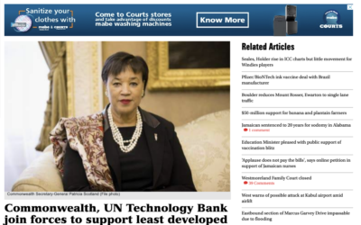 Commonwealth, UN Technology Bank Join Forces to Support Least Developed Countries